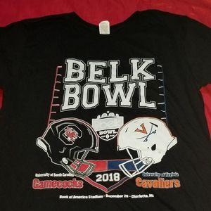 Collage football belk bowl t shirt
